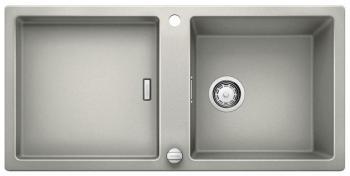Кухонная мойка BLANCO ADON XL 6S SILGRANIT жемчужный с клапаном-автоматом кухонная мойка blanco adon xl 6s silgranit белый с клапаном автоматом