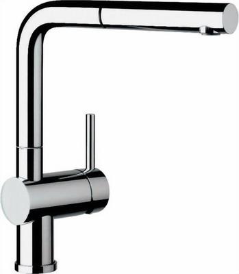 Кухонный смеситель BLANCO LINUS-S-F хром смеситель blanco periscope s f ii 516671