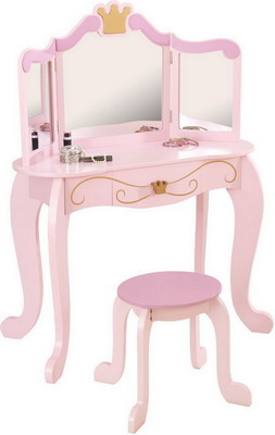 Туалетный столик KidKraft трельяж с зеркалом Принцесса 76123_KE
