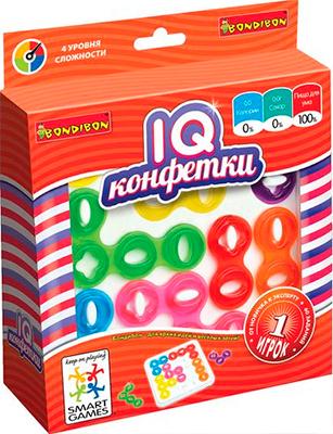 Головоломка Bondibon IQ-Конфетки ВВ1353 головоломка bondibon цветовой код bb0352 sg 090 ru