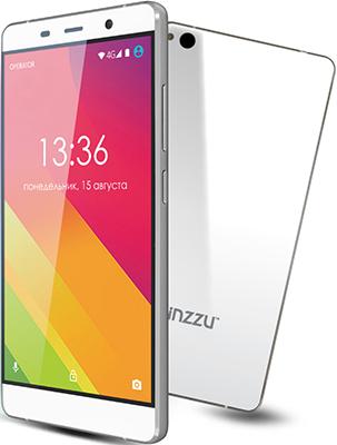 Мобильный телефон Ginzzu S 5050 белый мобильный телефон ginzzu r12 белый