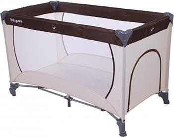купить Кровать-манеж Baby Care Care Arena Бежевый/Коричневый OB-888 недорого