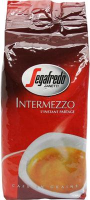 Кофе в зернах Segafredo INTERMEZZO 1KG