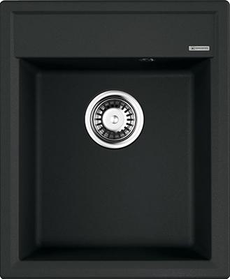 Кухонная мойка OMOIKIRI Daisen 42-BL Artgranit/Черный (4993606) кухонная мойка omoikiri daisen 78 2 ca artgranit карамель 4993331