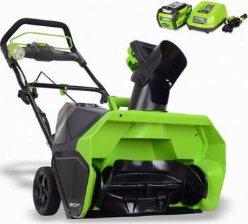 Снегоуборочная машина Greenworks 40 V G-MAX GD 40 SBA 2600607 a