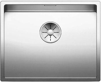 Кухонная мойка BLANCO CLARON 500-U нерж. сталь зеркальная полировка 521577