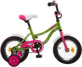 Велосипед Novatrack 12 NEPTUNE салатовый 123 NEPTUN.GN5 велосипед novatrack neptune 14 2015