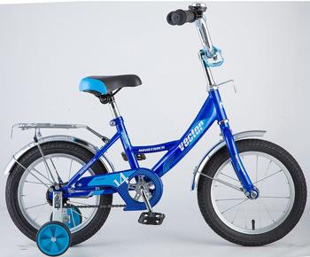 Велосипед Novatrack 143 VECTOR.BL8 14'' Vector  синий велосипед novatrack 143 vector rd5 14 vector красный