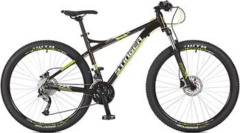 Велосипед Stinger 27.5'' Zeta HD 18'' черный 27 AHD.ZETAHD.18 BK7 велосипед stinger valencia 2017