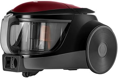 Пылесос LG VK 76 A 06 NDRP красный mie vapore white утюг с парогенератором