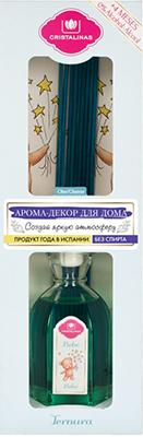 Арома-диффузор CRISTALINAS Mikado для жилых помещений с ароматом детского крема 90 мл