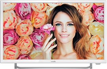 LED телевизор BBK 24 LEM-1037/FT2C белый белый цвет телевизор недорого