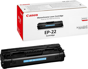 Картридж Canon EP-22 1550 A 003 картридж hp cz637ae 46 для deskjet ink advantage 2020hc printer 2520hc aio черный