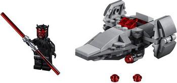 Конструктор Lego Микрофайтеры: Корабль-лазутчик ситхов 75224 Star Wars star wars lego конструктор lego star wars 75129 боевой корабль вуки