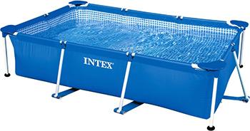 Бассейн Intex Rectangular Frame 300х200х75 3834л 28272 бассейн каркасный intex 28271 28271np rectangular frame 260х160х65см