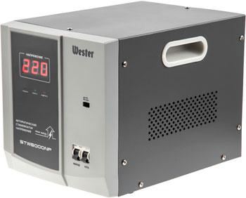 все цены на Стабилизатор напряжения WESTER STW 5000 NP