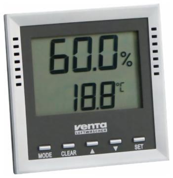 Гигрометр электронный Venta 2010 очиститель воздуха venta отзывы