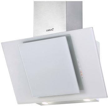 Вытяжка со стеклом Cata CERES 600 BLANCA вытяжка купольная cata neblia 600 blanca