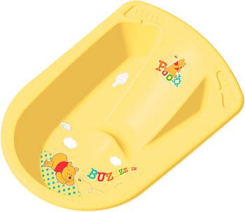 Ванна анатомическая ОКТ DISNEY Винни пух  с сливом желтый окт кресло в ваннуокт disney винни пух нескольз желтый