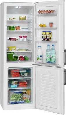 Двухкамерный холодильник Bomann KG 183 w холодильник bomann kg 183 wei 56cm a 256