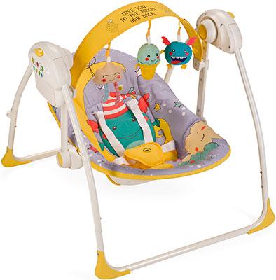 Электрокачели Happy Baby Jolly VIOLET