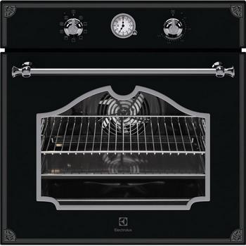 Встраиваемый электрический духовой шкаф Electrolux OPEB 2320 B духовой шкаф электрический electrolux eoa95551ax нержавеющая сталь