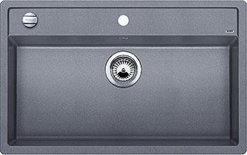 Кухонная мойка BLANCO DALAGO 8 SILGRANIT алюметаллик с клапаном-автоматом кухонная мойка blanco dalago 45 f silgranit алюметаллик с клапаном автоматом