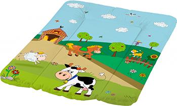 Матрас для пеленания ОКТ Весёлая Ферма зелёный 50х70 окт funny farm с сливом салатовый