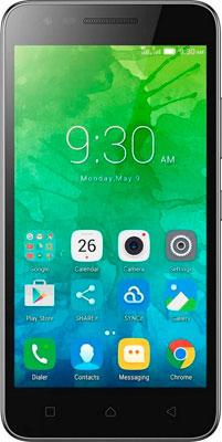 Мобильный телефон Lenovo IdeaPhone Vibe C2 K 10 A 40 2SIM (PA 450035 RU) LTE черный смартфон lenovo vibe c2 power 16gb k10a40 black