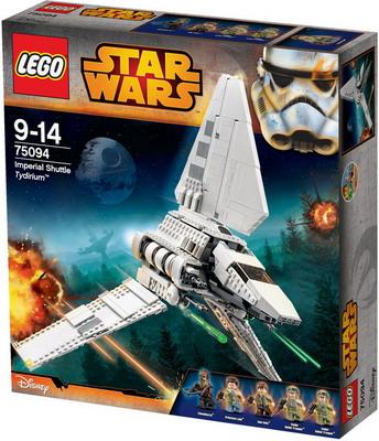 Конструктор Lego Star Wars Имперский шаттл Тайдириум 75094 ювелирное изделие 75094