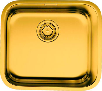 Кухонная мойка OMOIKIRI Omi 44-AB нерж/латунь (4993190) кухонный смеситель omoikiri tateyama s gr латунь гранит leningrad grey 4994176