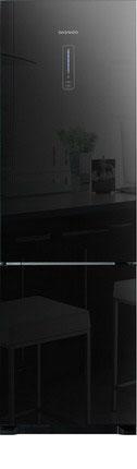Фото Двухкамерный холодильник Daewoo Electronics. Купить с доставкой