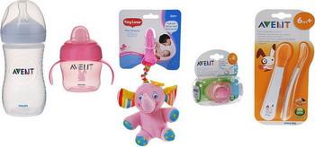 Набор бутылочек Philips Avent №88 розовый электробритва philips satinshave advanced brl140 00 для женщин белый и розовый