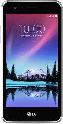 Мобильный телефон LG K7 2017 титановый мобильный телефон lg lg k7 2017 x230 титан