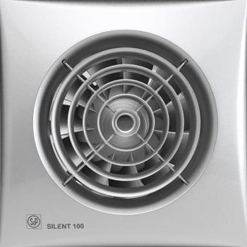 Вытяжной вентилятор Soler amp Palau Silent-100 CRZ (серебро) 03-0103-103 cs4208 crz