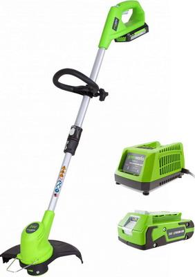 Триммер Greenworks G 24 ST 30 MK2 2100007 VA аккумуляторный триммер greenworks 82v gd82bc 2101707