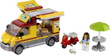 Конструктор Lego City Great Vehicles: Фургон-пиццерия 60150 фильтр кувшин аквафор атлант тёмно зелёный