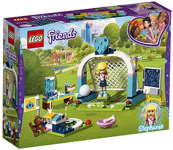 Конструктор Lego Футбольная тренировка Стефани Friends 41330 конструктор lego friends 41314 дом стефани