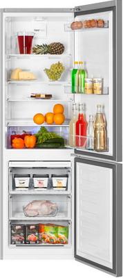Двухкамерный холодильник Beko RCNK 321 K 00 S двухкамерный холодильник beko rcnk 321 k 00 w