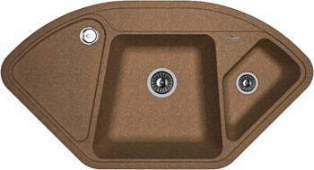 Кухонная мойка Florentina Капри 1060х575 коричневый FG кухонная мойка florentina капри 1060х575 песочный fg