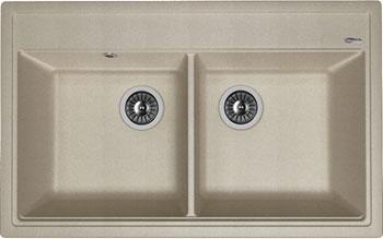 Кухонная мойка Florentina Липси-820 820х510 грей FSm искусственный камень