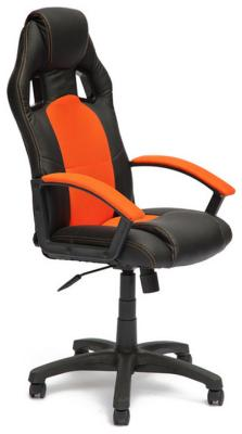 Кресло Tetchair DRIVER (кож/зам/ткань черный/оранжевый 36-6/07) кресло tetchair runner кож зам ткань черный оранжевый 36 6 tw07 tw 12