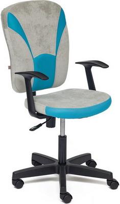 Кресло Tetchair OSTIN ткань серый/бирюзовый мираж грей/23 ostin футболка с новогодним принтом