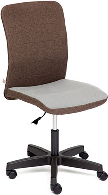 Кресло Tetchair BESTO ткань коричневый/серый зм7-147/с27