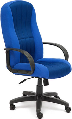 Кресло Tetchair СН833 (ткань/сетка синий/синий 2601/10) кресло tetchair сн888 ткань сетка синий синий 2601 10