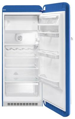 Однокамерный холодильник Smeg FAB 28 RBL1 однокамерный холодильник smeg fab 28 rr1