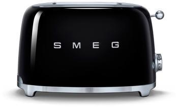 Тостер Smeg TSF 01 BLEU чёрный тостер smeg tsf 02 pkeu розовый