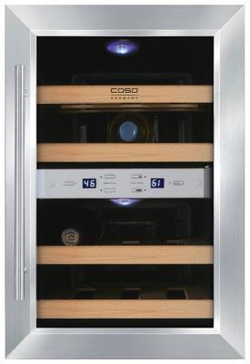 Винный шкаф CASO WineDuett 12 винный шкаф caso wineduett 21 черный