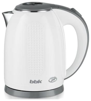 Чайник электрический BBK EK 1735 P белый/серебро