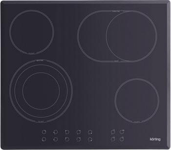 Встраиваемая электрическая варочная панель Korting HK 63051 B электрическая варочная панель korting hk